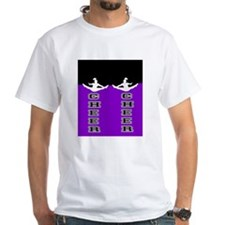 Cheer Black and Purple Shirt