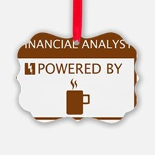 Financial Analyst Powered by Coff Ornament