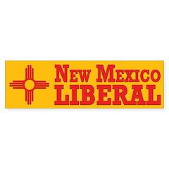 New Mexico Liberal (bumper sticker)