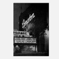 Compton Drive-In Poster S Postcards (Package of 8)