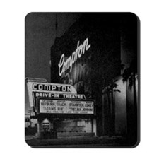 Compton Drive-In Poster Sq Mousepad