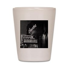 Compton Drive-In Poster Sq Shot Glass