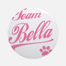 team bella Round Ornament