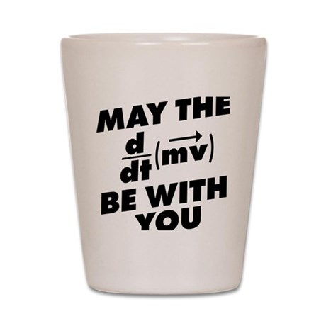 May The Force Be With You Shot Glass