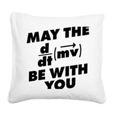 May The Force Be With You Square Canvas Pillow