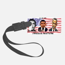 Obama-Nation Flag Luggage Tag