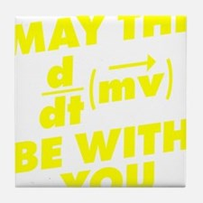 May The Force Be With You Tile Coaster