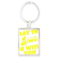 May The Force Be With You Portrait Keychain