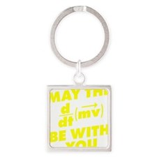 May The Force Be With You Square Keychain