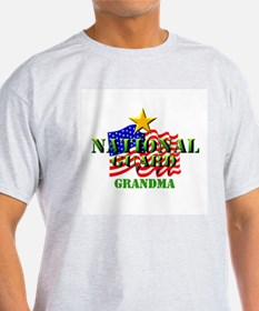 National Guard (2) Grandma Women's Pink T-Shirt