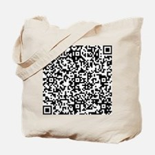 Parallel Worlds Production QR Code Tote Bag