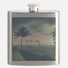 Fort lauderdale beach Flask
