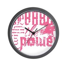The Babe With The Power (Girl) Wall Clock