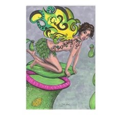 Nepenthes Fairy with tatt Postcards (Package of 8)