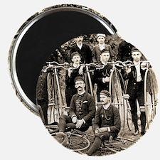 Old Timey Bike Gang Magnet