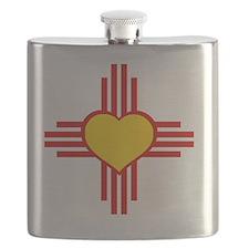 I Love NM Flask