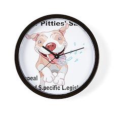 For Pitties' Sake Repeal BSL Wall Clock