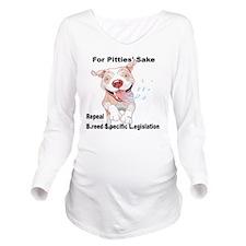 For Pitties' Sake Re Long Sleeve Maternity T-Shirt