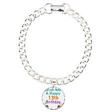 Wish me a happy13th Birt Bracelet