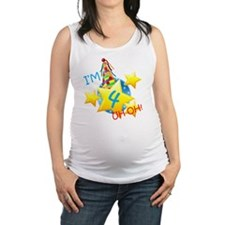 Im 4, Uh Oh! Maternity Tank Top