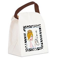 Martini Diva Canvas Lunch Bag