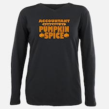 Accountant Powered by Pumpkin Spice T-Shirt
