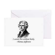 """""""Must Have Books"""" Greeting Cards (Pk of 10)"""