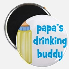 Papas Drinking Buddy Magnet