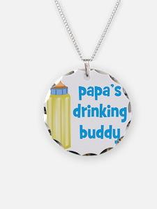 Papas Drinking Buddy Necklace