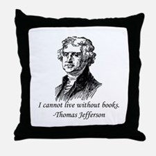 """""""Must Have Books"""" Throw Pillow"""