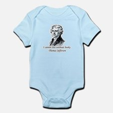 """Must Have Books"" Infant Bodysuit"