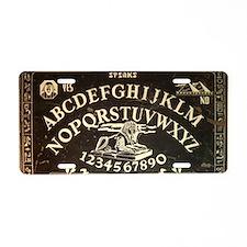 Vintage Sphinx Ouija Board Aluminum License Plate