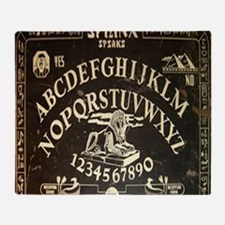 Vintage Egyptian style Sphinx Ouija  Throw Blanket