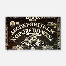 Vintage Sphinx Ouija Board Rectangle Car Magnet