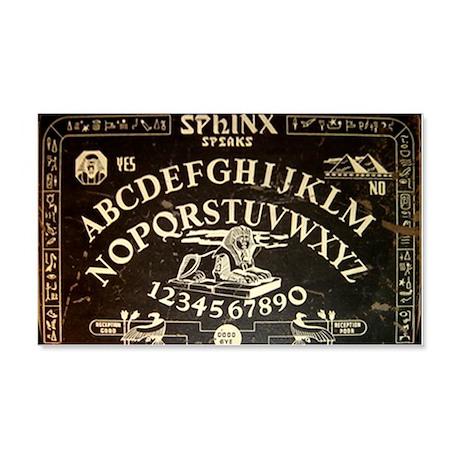 Vintage Sphinx Ouija Board 20x12 Wall Decal