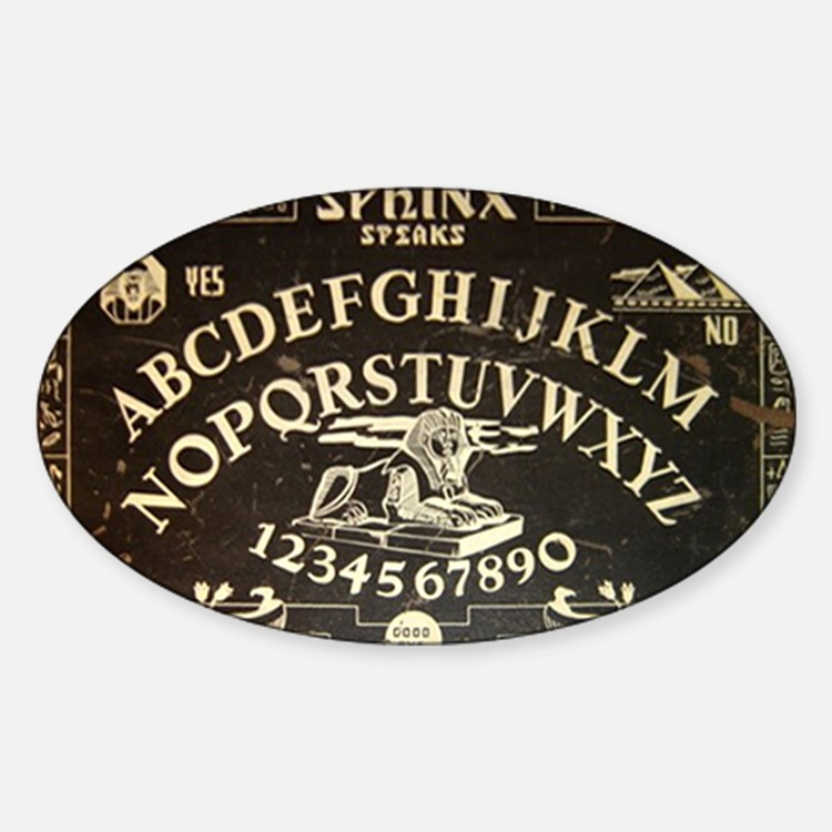 Vintage Sphinx Ouija Board Decal