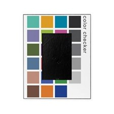 Photographers Color Checker tee Picture Frame