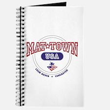 Mat-Town USA Round Logo Journal