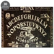 Vintage Egyptian style Sphinx Ouija Board m Puzzle