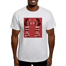 Husband Leader Footwear (Red) T-Shirt