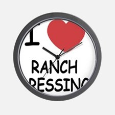 I heart ranch dressing Wall Clock