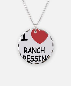 I heart ranch dressing Necklace