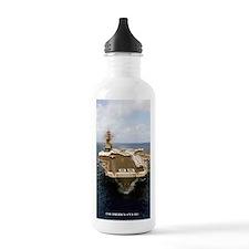 uss america cva mini p Water Bottle