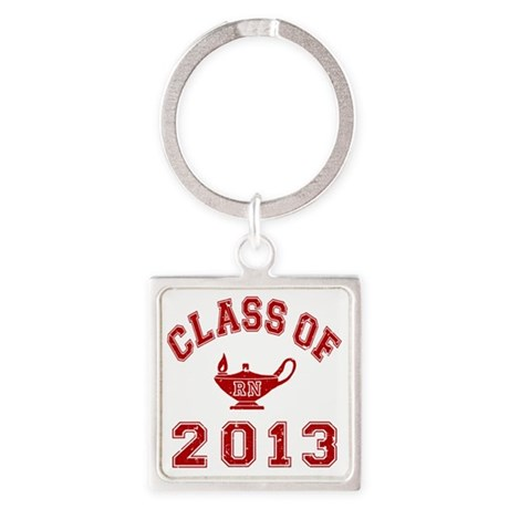 Class Of 2013 RN Square Keychain