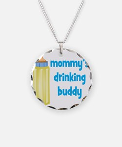 Mommys Drinking Buddy Necklace