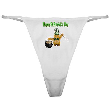 Happy St.Patricks Day Classic Thong