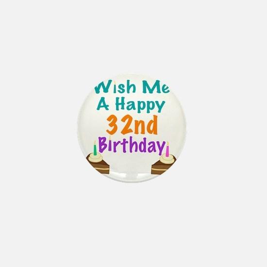 Happy 32Nd Birthday Happy 32nd Birthday Button