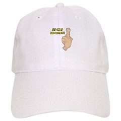 Sit on it and Rotate- Middle Finger Baseball Cap