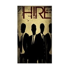 4Hire Graphic Poster w/tint Decal