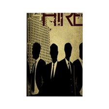 4Hire Graphic Poster Full w/tint Rectangle Magnet